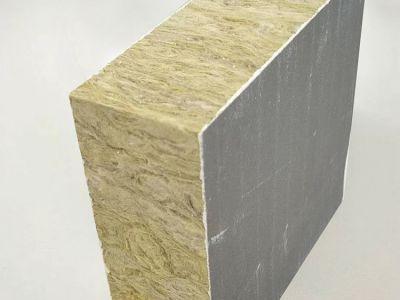 岩棉复合板 外墙憎水岩棉板 隔热保温岩棉