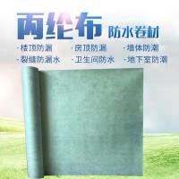 防水涤纶布施工过程