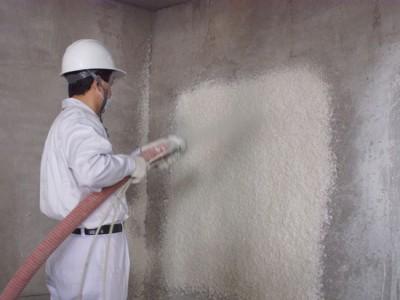 地下室无机纤维喷涂