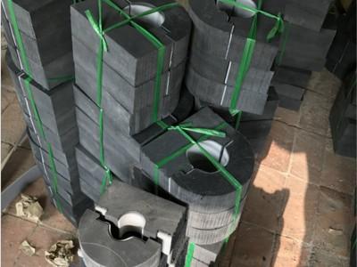 中央空调木托管道垫木橡塑保防腐码水管