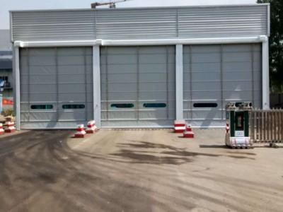 天津供应 售后 支持定制 快速堆积门 自动车库门 柔性堆积门