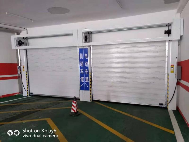 停车场速通门快速隔离门密封保温门厂家18002006510