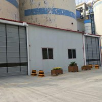 堆积门厂家 快速堆积门批发 天津科曼斯18002006510