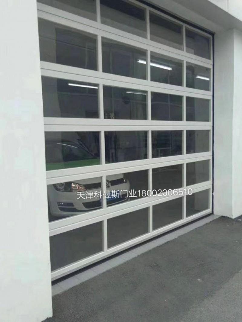 全透明提升门 滑升门厂家 天津科曼斯门业