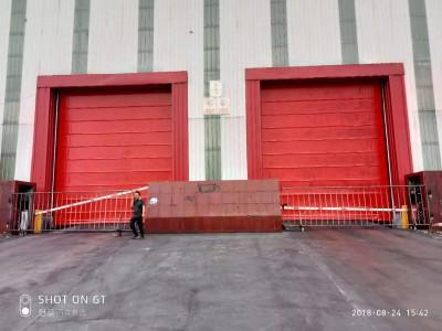 堆积门厂家 快速堆积门价格批发 天津科曼斯门业