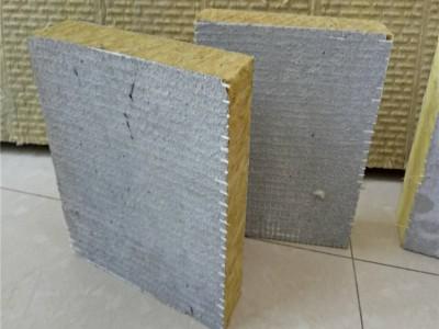 岩棉复合板生产厂家,竖丝岩棉复合板价格