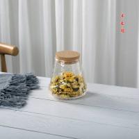 玻璃茶叶罐 密封储物罐大小号 便携玻璃罐定制logo