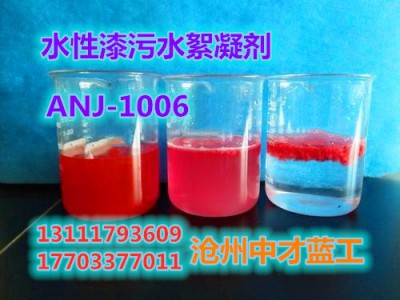 水性漆污水絮凝(净化)剂ANJ-1006
