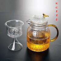 玻璃蒸煮两用壶 玻匠人十大品牌茶具