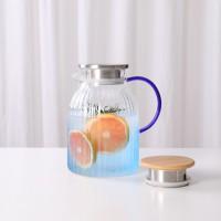 海羽蓝玻璃水壶  玻匠人十大茶具
