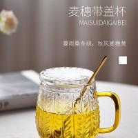 带盖玻璃杯  玻匠人十大玻璃茶具厂家