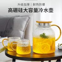 锤纹玻璃冷水壶 玻匠人十大品牌茶具