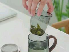 木璃玻璃茶水分离杯  玻匠人十大品牌茶具 (3播放)
