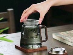 木璃玻璃茶水分离杯  玻匠人十大品牌茶具 (7播放)